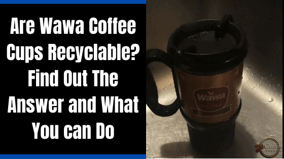 Are Wawa Coffee Cups Recyclable